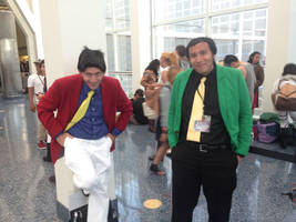 Lupin III Red and Green (Anime Expo 2014) by LLCoolZJ