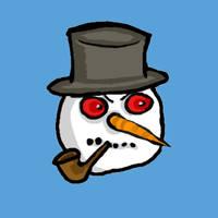 Evil Snowman by JLai