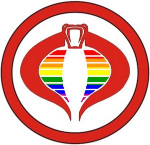 Cobra GAY Pride by Yautja-Steve