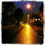 Mallow Street Limerick After Rain by Yautja-Steve