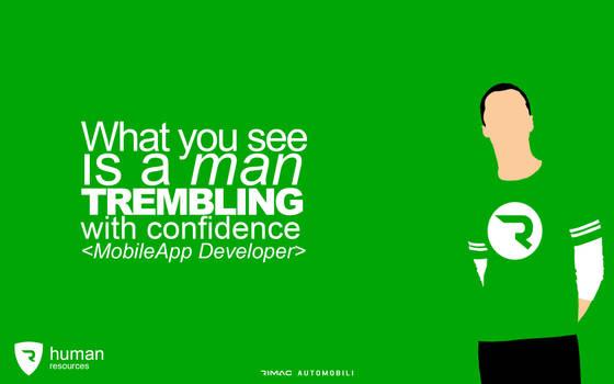 Big Bang Theory - Rimac Job Application Poster by matijadananic