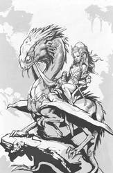 Dragon Rider by manmonkee