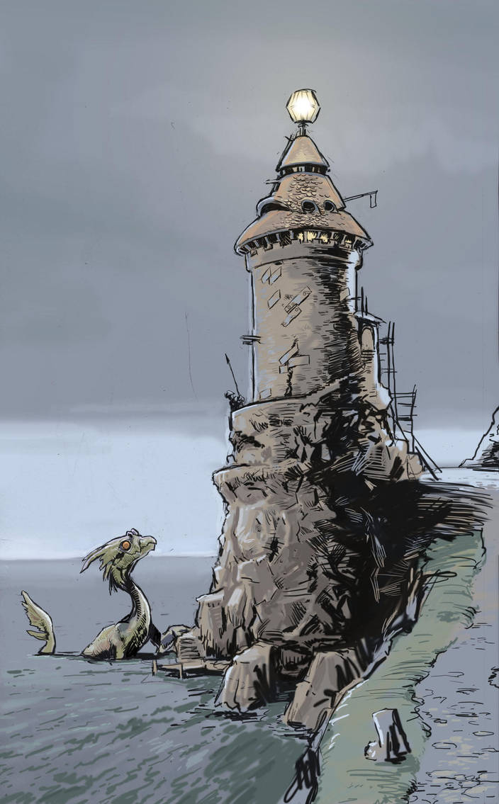 Lighthouse by manmonkee