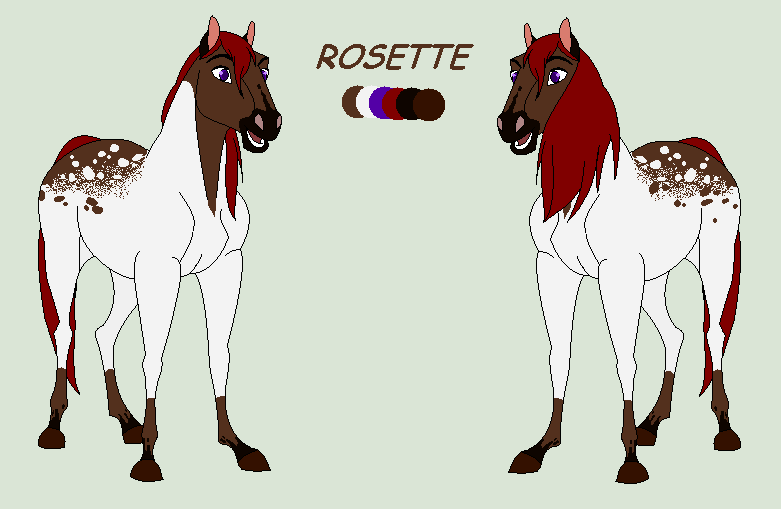 [REF SHEET]ROSETTE by WhiteeRosee