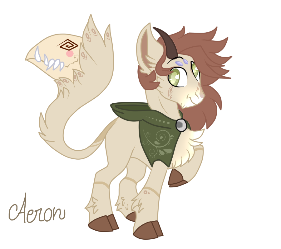 [NEW MLP OC] Aeron by WhiteeRosee