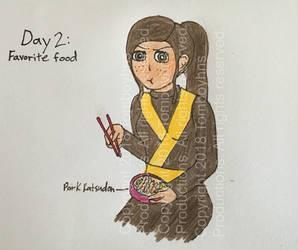 4/18 OC Challenge: Ninjago OC - Day 2 by Tomboyhns