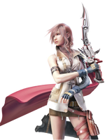 High-Res Lightning FFXIII Render by Oathkeeper-21
