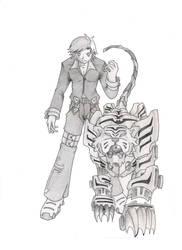 robo tiger by Psychorobo