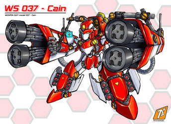 ws037-cain by Psychorobo