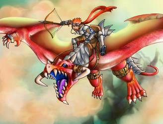 Aviator and the Sky Dragon by Psychorobo