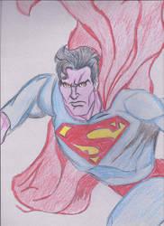 Superman's Rage by JohnReynolds