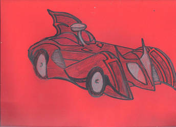 13 Days Halloween Batmobile by JohnReynolds