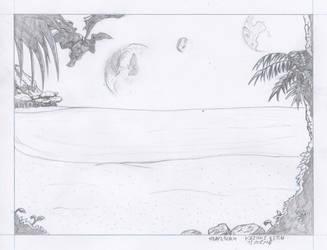 #day3 - 2018 08 15 - Beach by Ikuzak