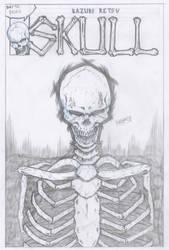 #day10 - 2018 08 22 - Skull by Ikuzak