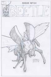 #day17 - 2018 08 29 - Insect by Ikuzak