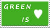 DA Stamps: I love green by eleoyasha