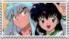DA Stamps: Inuyasha and Kagome by eleoyasha