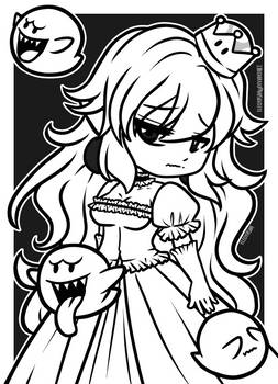[Inktober Day 02] - Boosette by eleoyasha