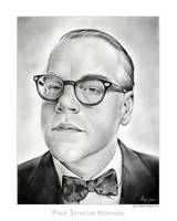 Philip Seymour Hoffman by gregchapin
