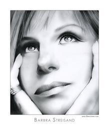 Barbra Streisand by gregchapin