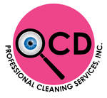 OCD Professional Cleaning Services Logo by gregchapin
