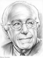 Bernie Sanders by gregchapin