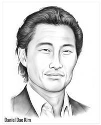 Daniel Dae Kim by gregchapin