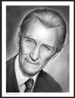 Peter Cushing by gregchapin