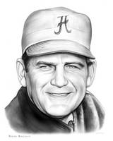 Bear Bryant  - Sketch of the Day for Tuesday by gregchapin