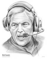 Sketch of the Day - Kirk Ferentz by gregchapin