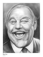 Sketch of the Day - Burl Ives by gregchapin