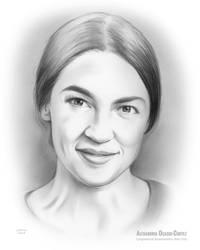 Alexandria Ocasio-Cortez is an American politician by gregchapin