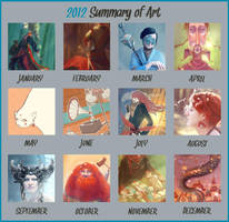 Summary of art 2012 by Dferous