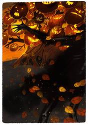 The Halloween Tree II by Dferous