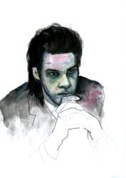 Nick Cave by Regitze