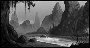 Beach by Titaniasky