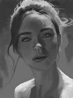 portrait practice by Titaniasky