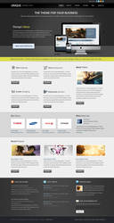 Unique Business Theme color1 by sunilbjoshi