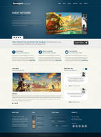 SandSpace Premium Theme by sunilbjoshi