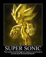 Super Sonic Motivational by Bluewind2006