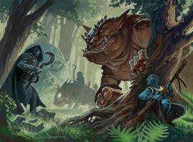 Monsterwood: The Hunt by Steve-Ellis