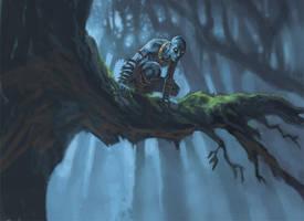 Monsterwood: Jovis before the War by Steve-Ellis