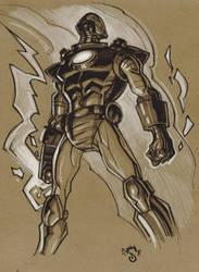 Iron Man.sketch.02 by Steve-Ellis