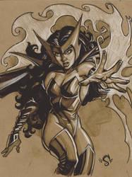 Scarlet.witch by Steve-Ellis