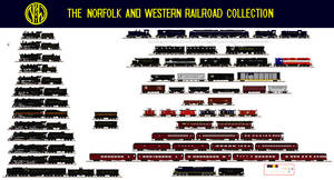Norfolk and Western Collection by Andrewk4