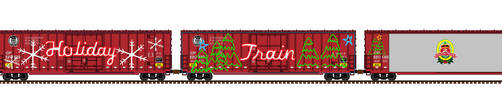 Canadian Pacific Holiday Train by Andrewk4