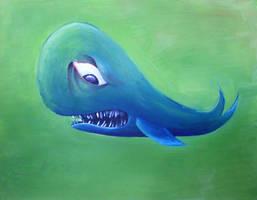 Oh Whale by Sabu-Kudo
