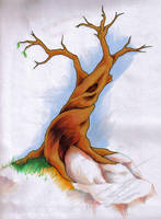 Tree from the 7th dimension by Sabu-Kudo
