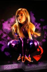 My Psylocke by BLUEKANJI