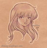just a girl by Sozalina
